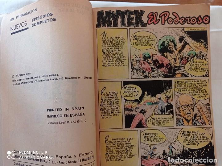 Cómics: MYTEX EL PODEROSO EDIC.VERTICE 1969 N°1 - Foto 4 - 283306358