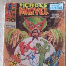 Comics : HEROES MARVEL VOL.1 Nº2 CAUTIVOS DEL MANDARIN Nº 2 - EDICIONES VERTICE. Lote 283870138