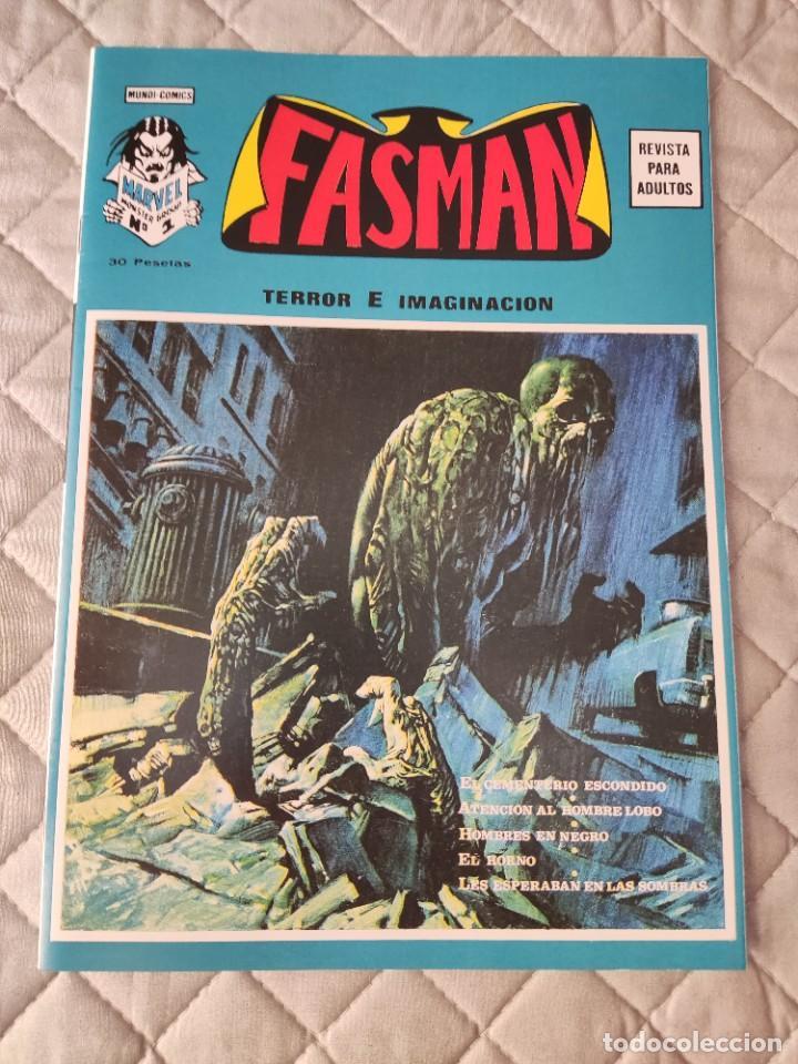 FASMAN Nº 1 FACSIMIL NÚMERO ÚNICO DIFICILÍSIMO EXCELENTE ESTADO VERTICE (Tebeos y Comics - Vértice - Terror)
