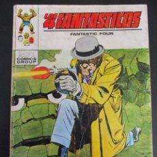 Cómics: 4 FANTASTICOS, LOS (1969, VERTICE) -V.1- 40 · VII-1972 · EL TOTEM VIVIENTE. Lote 284403148