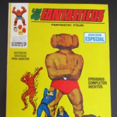 Cómics: 4 FANTASTICOS, LOS (1969, VERTICE) -V.1- 8 · XI-1969 · EL PENSADOR LOCO. Lote 284404238