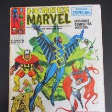 Cómics: HEROES MARVEL (1972, VERTICE) 1 · 1972 · EL ORIGEN DE LOS INHUMANOS. Lote 284417583