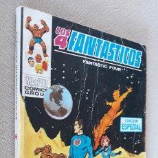 Cómics: LOS 4 FANTÁSTICOS VÉRTICE VOLUMEN VOL. 1 Nº 7. Lote 284417998