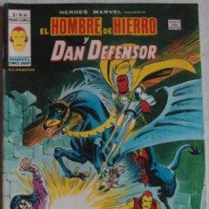 Cómics: HÉROES MARVEL PRESENTA / EL HOMBRE DE HIERRO Y DAN DEFENSOR / Nº52 / ED. VÉRTICE - REF.058. Lote 284442738