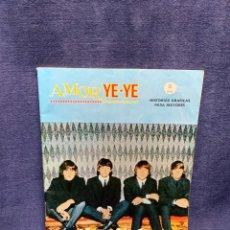 Cómics: AMOR YE-YE COMO FILMARON LOS BEATLES Nº1 ED VERTICE 1965 COMIC 21X15CMS. Lote 284566318