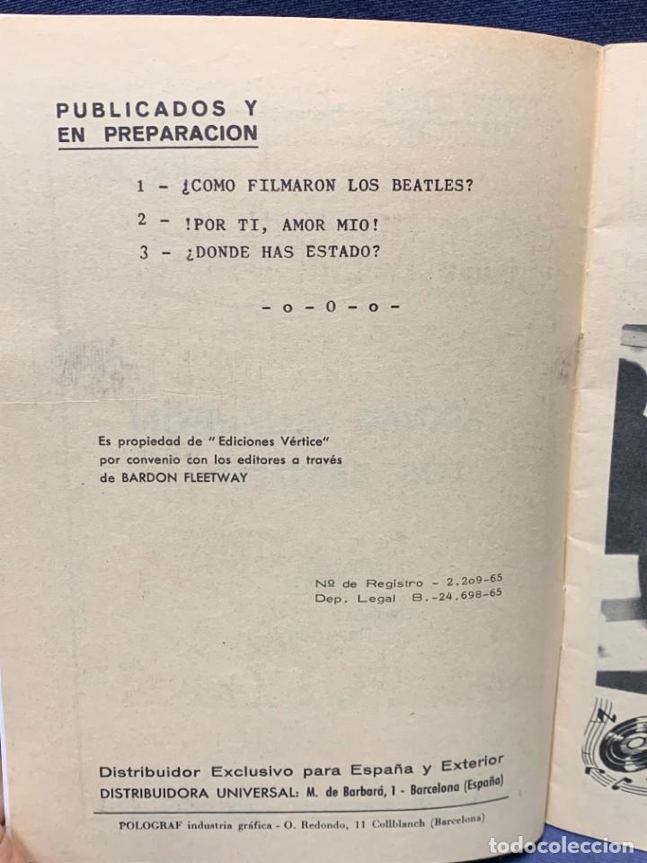 Cómics: AMOR YE-YE COMO FILMARON LOS BEATLES Nº1 ED VERTICE 1965 COMIC 21X15CMS - Foto 3 - 284566318