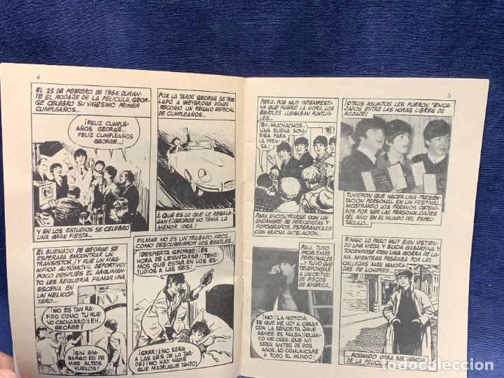 Cómics: AMOR YE-YE COMO FILMARON LOS BEATLES Nº1 ED VERTICE 1965 COMIC 21X15CMS - Foto 4 - 284566318