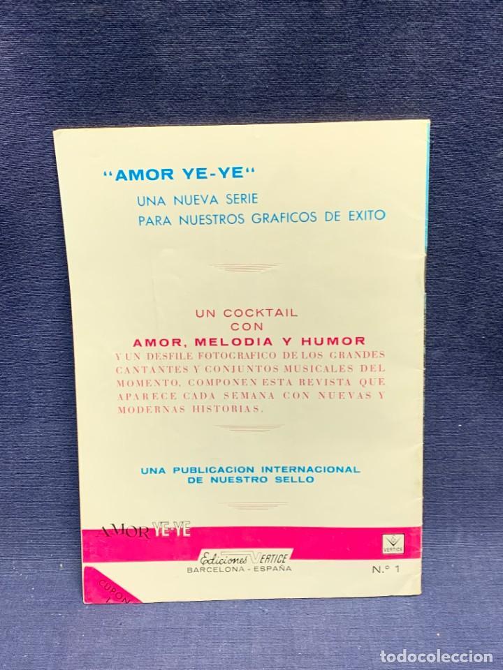Cómics: AMOR YE-YE COMO FILMARON LOS BEATLES Nº1 ED VERTICE 1965 COMIC 21X15CMS - Foto 6 - 284566318