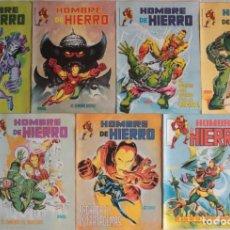 Cómics: EL HOMBRE DE HIERRO / Nº 1 AL 7 / LINEA 83 SURCO / ED VERTICE - REF.068. Lote 284581183