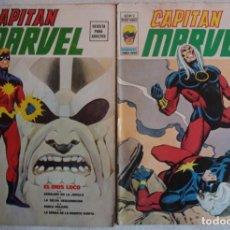 Cómics: CAPITAN MARVEL / VOL 2 / Nº 1 Y 2 / ED VERTICE - REF.070. Lote 284719318