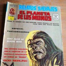 Cómics: EL PLANETA DE LOS MONOS (RELATOS SALVAJES)- VÉRTICE (MUNDI-COMICS) V. 2, N°1!!!.1977.. Lote 285059913