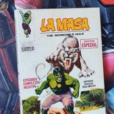 Cómics: BASTANTE NUEVO LA MASA 4 COMICS MARVEL TACO EDICIONES VERTICE. Lote 285191073
