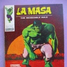 Cómics: LA MASA Nº 23 VERTICE TACO ¡¡¡ MUY BUEN ESTADO!!!. Lote 285380603