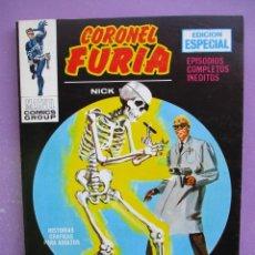 Cómics: CORONEL FURIA Nº 12 VERTICE TACO ¡¡¡ EXCELENTE ESTADO!!!. Lote 285391848