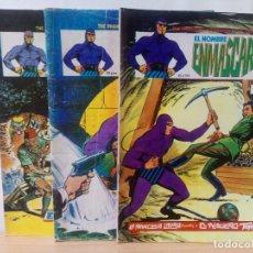 Cómics: LOTE DE 3 COMICS-EL HOMBRE ENMASCARADO-AÑOS 70/80. Lote 285551368