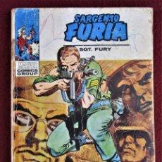Cómics: SARGENTO FURIA Nº 12 CADA CUAL ES MI ENEMIGO VERTICE REGULAR. SIN GALERÍA MARVEL. VER FOTOS.. Lote 285610748