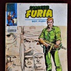 Cómics: SARGENTO FURIA Nº 17 EL ORIGEN DE LOS COMANDOS DE FURIA VERTICE NORMAL. SIN GALERÍA MARVEL.. Lote 285621793