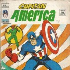 Cómics: CAPITÁN AMÉRICA V3 Nº 1 SURGE EL CAPITÁN AMÉRICA. VÉRTICE 1974 TAPA CON PÉRDIDA DE PAPEL. Lote 285738403