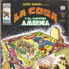 Cómics: SUPER HEROES PRESENTA LA COSA Y EL CAPITÁN AMÉRICA V2 Nº 103 MARVEL - 1977. Lote 285738693