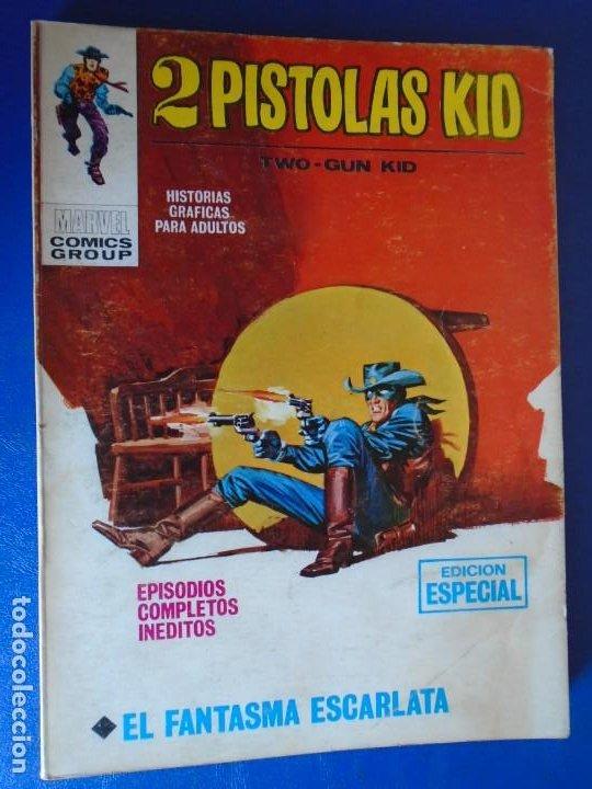 (COM-210907)EDICIONES VERTICE - 2 PISTOLAS KID - Nº 4 - 25 PTS. (Tebeos y Comics - Vértice - V.1)