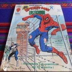 Cómics: VÉRTICE VOL. 2 SUPER HÉROES Nº 37 SPIDERMAN Y EL CASTIGADOR. REGALO Nº 93 CON LA COSA NAMOR. DIFÍCIL. Lote 12841152