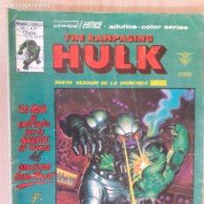 Cómics: THE RAMPAGING HULK V.1 Nº12. LA MASA. VERTICE. Lote 286346068