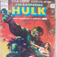 Cómics: THE RAMPAGING HULK . LA MASA Nº 8. VERTICE 1979. Lote 286346528