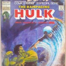 Cómics: THE RAMPAGING HULK . LA MASA Nº 7. VERTICE 1979. Lote 286346608