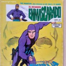Cómics: EL HOMBRE ENMASCARADO VOL. 1 Nº 55. VERTICE 1976. BUEN ESTADO. Lote 286719548