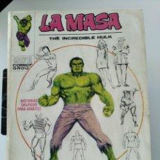 Comics : (VERTICE -V.1) LA MASA - Nº: 1 ( TOMO GIGANTE) NORMAL USO.-. Lote 286965303