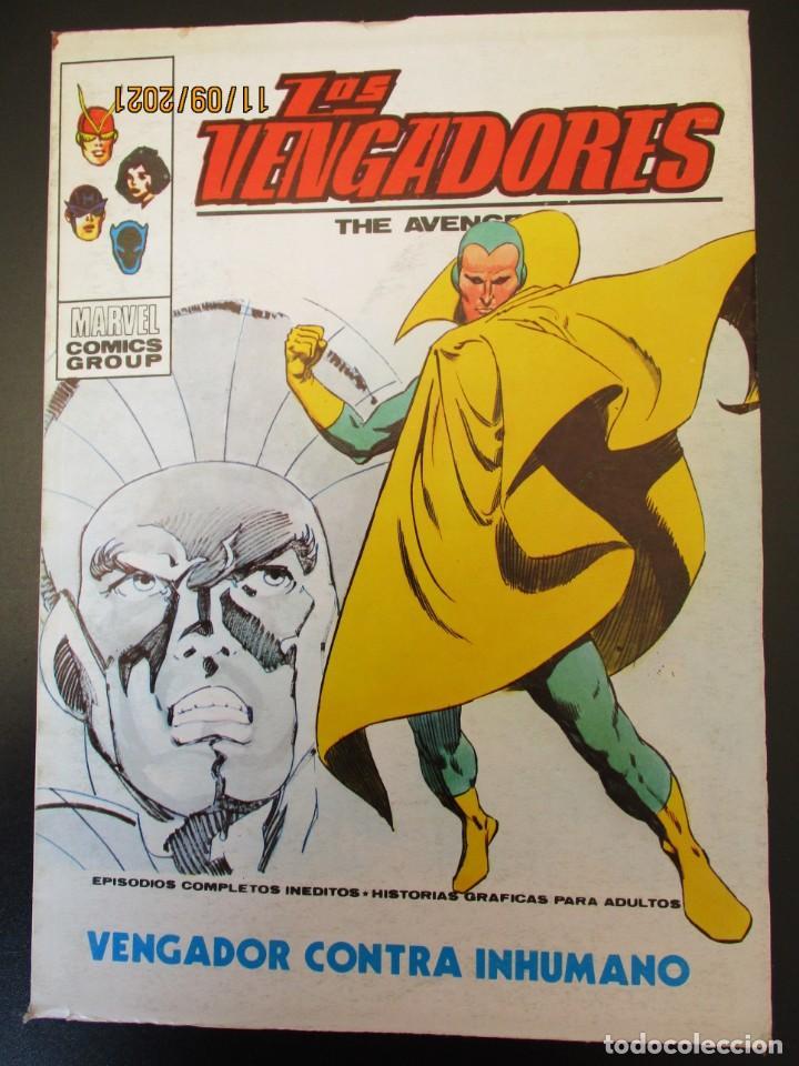 VENGADORES, LOS (1969, VERTICE) 44 · V-1973 · VENGADOR CONTRA INHUMANO (Tebeos y Comics - Vértice - Vengadores)