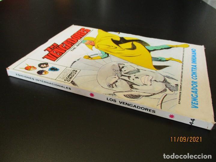 Cómics: VENGADORES, LOS (1969, VERTICE) 44 · V-1973 · VENGADOR CONTRA INHUMANO - Foto 2 - 287021548