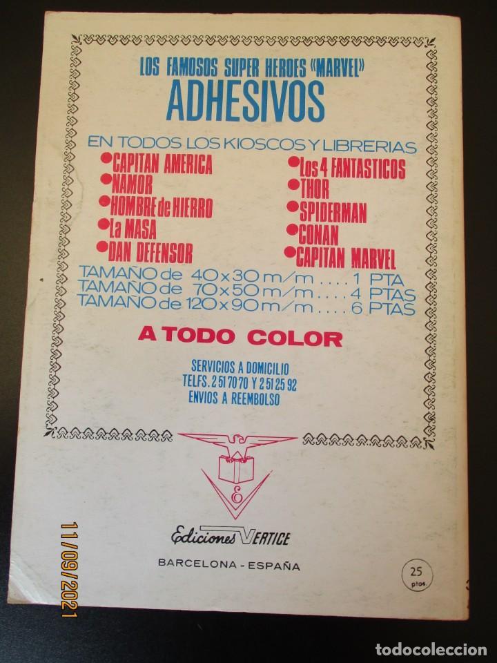 Cómics: VENGADORES, LOS (1969, VERTICE) 39 · X-1972 · EL MUNDO NO DEBE ARDER - Foto 3 - 287029603