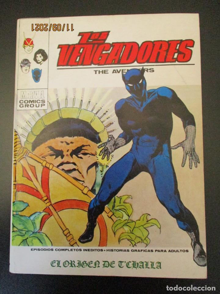 VENGADORES, LOS (1969, VERTICE) 40 · XI-1972 · EL ORIGEN DE T'CHALLA (Tebeos y Comics - Vértice - Vengadores)