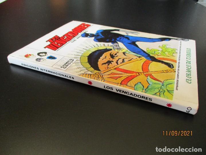 Cómics: VENGADORES, LOS (1969, VERTICE) 40 · XI-1972 · EL ORIGEN DE TCHALLA - Foto 2 - 287029738