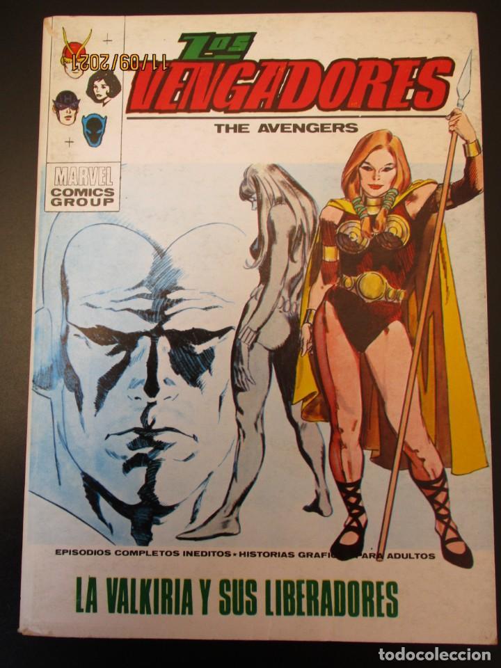 VENGADORES, LOS (1969, VERTICE) 38 · IX-1972 · LA VALKIRIA Y SUS LIBERADORAS *** EXCELENTE *** (Tebeos y Comics - Vértice - Vengadores)