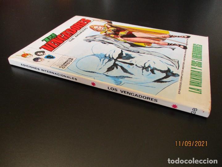 Cómics: VENGADORES, LOS (1969, VERTICE) 38 · IX-1972 · LA VALKIRIA Y SUS LIBERADORAS *** EXCELENTE *** - Foto 2 - 287036873