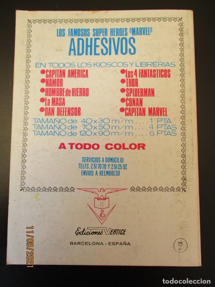 Cómics: VENGADORES, LOS (1969, VERTICE) 38 · IX-1972 · LA VALKIRIA Y SUS LIBERADORAS *** EXCELENTE *** - Foto 3 - 287036873
