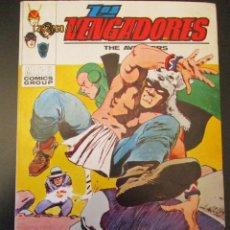Cómics: VENGADORES, LOS (1969, VERTICE) 37 · VIII-1972 · MUERTE DE UNA LEYENDA. Lote 287037168