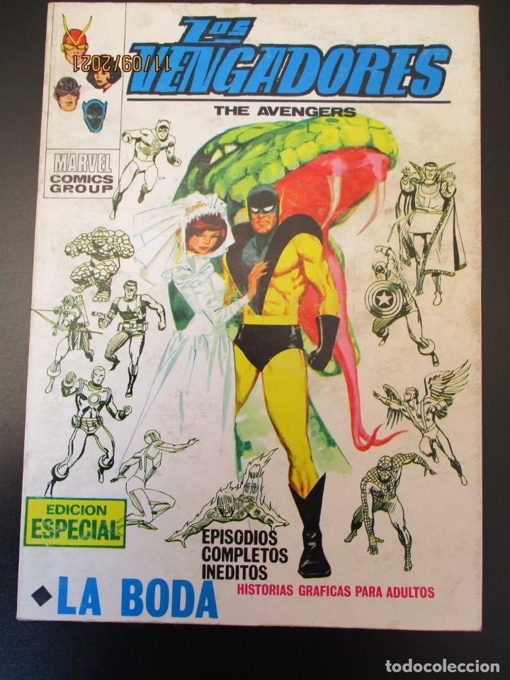 VENGADORES, LOS (1969, VERTICE) 27 · X-1971 · LA BODA (Tebeos y Comics - Vértice - Vengadores)