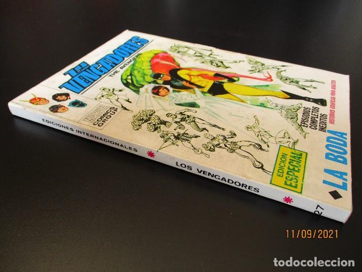 Cómics: VENGADORES, LOS (1969, VERTICE) 27 · X-1971 · LA BODA - Foto 2 - 287037468