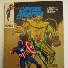 Cómics: CAPITAN AMERICA (1969, VERTICE) 24 · IX-1971 · EL GRAN SUEÑO. Lote 287057768