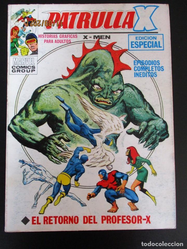 PATRULLA X (1969, VERTICE) 30 · XII-1971 · EL RETORNO DEL PROFESOR-X (Tebeos y Comics - Vértice - Patrulla X)