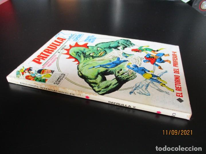 Cómics: PATRULLA X (1969, VERTICE) 30 · XII-1971 · EL RETORNO DEL PROFESOR-X - Foto 2 - 287122303
