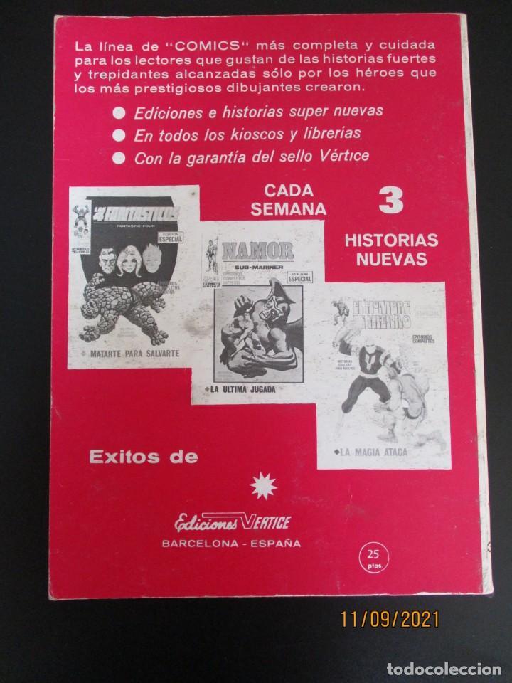 Cómics: PATRULLA X (1969, VERTICE) 30 · XII-1971 · EL RETORNO DEL PROFESOR-X - Foto 3 - 287122303
