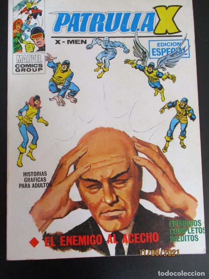 PATRULLA X (1969, VERTICE) 7 · I-1970 · EL ENEMIGO AL ACECHO (Tebeos y Comics - Vértice - Patrulla X)