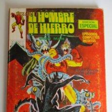 Cómics: IRON MAN (1969, VERTICE) -EL HOMBRE DE HIERRO- 20 · II-1971 · EL GEMIDO DEL DEMONIO. Lote 287147453