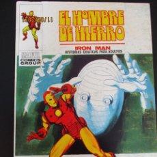 Cómics: IRON MAN (1969, VERTICE) -EL HOMBRE DE HIERRO- 22 · IV-1971 · LAGRIMAS POR UNA PESADILLA. Lote 287147948