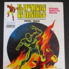 Cómics: IRON MAN (1969, VERTICE) -EL HOMBRE DE HIERRO- 23 · V-1971 · PELIGRO PARA EL MUNDO. Lote 287148483