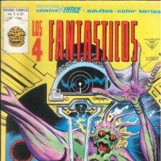 Cómics: LOS 4 FANTÁSTICOS VOLUMEN 3 NÚMERO 31 VÉRTICE MARVEL. Lote 287203033